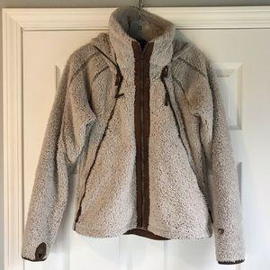 Kuhl Fluffy Tan Coat